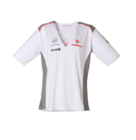 T-shirt Vodafone McLaren Mercedes F1 Team 2012 da donna