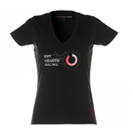 T-shirt Vodafone McLaren Mercedes Car & Motion (Set Hearts Racing) da donna