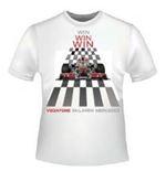 T-shirt Vodafone McLaren Mercedes Car & Motion da bambino