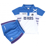 2013-14 Scotland Macron Alternate Rugby Mini Kit