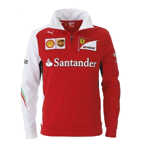 Offerta: Ferrari Team Half-Zip Fleece 2014