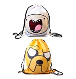 Adventure Time Gym Bag Reversible Finn & Jake