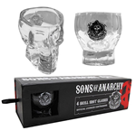 SONS OF ANARCHY Skull Shot Glass 4-Set
