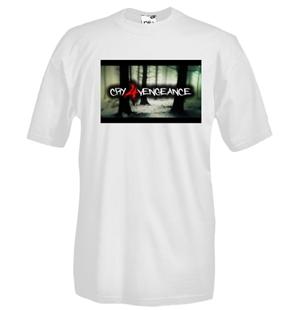 Image of T-shirt girocollo manica corta con stampa flex da intaglio - cfv