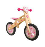 HELLO KITTY Woody Wooden Balance Bike