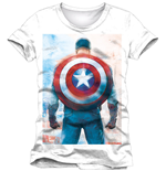 T-Shirt Captain America  - Back