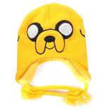 mutze-adventure-time-jake-in-gelb-mit-zwei-schnuren