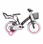 Hello Kitty Bike Romantic 14 BLACK/PINK