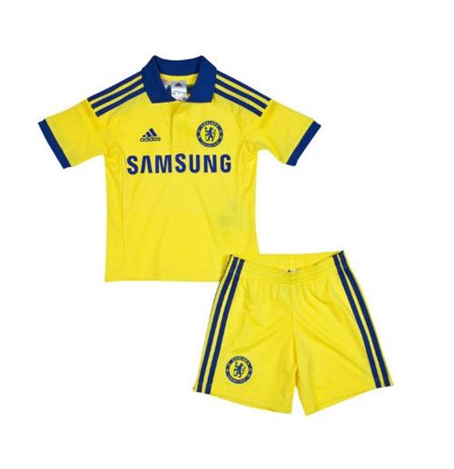 Image of Kit Chelsea 2014-15 Adidas da bambino (3-18 mesi)