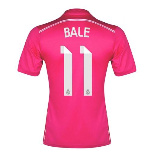 Real Madrid Maillot Extérieur Adidas 2014-15 (Bale 11 ) -Garçon