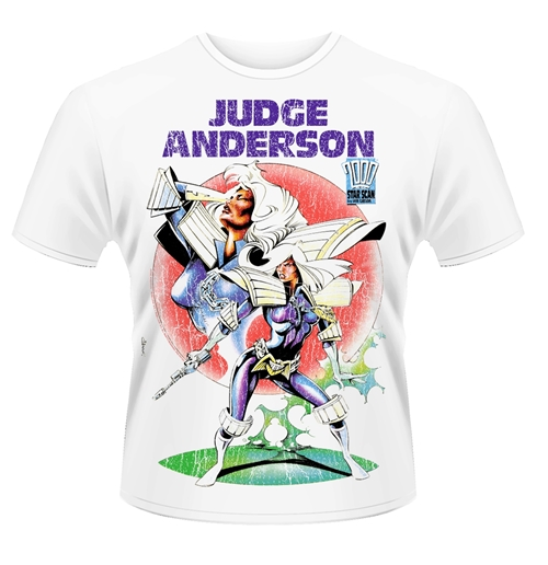 Image of T-shirt 2000AD Judge Anderson - Judge Anderson 2