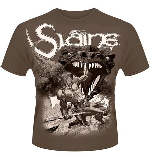 Image of T-shirt 2000AD Slaine - Slaine Painting