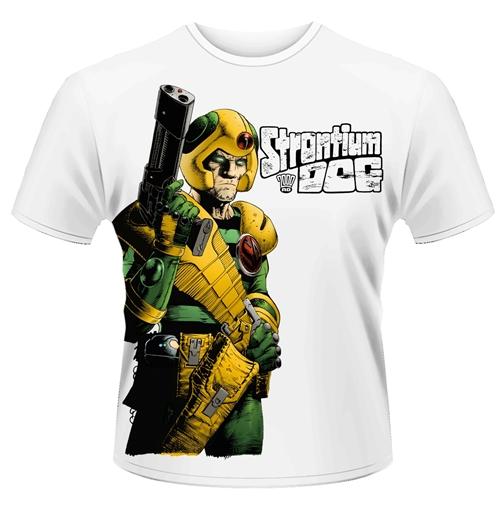 Image of T-shirt 2000AD Strontium Dog - Gun