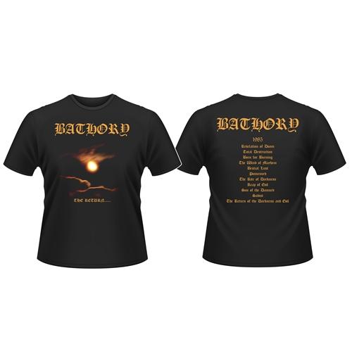 Image of T-shirt Bathory The RETURN...