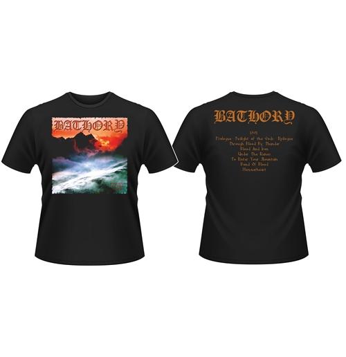 Image of T-shirt Bathory Twilight Of The Gods