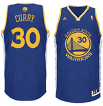 Canotta adidas Stephen Curry Golden State Warriors Revolution 30 Swingman Road