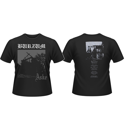 Image of T-shirt Burzum Aske