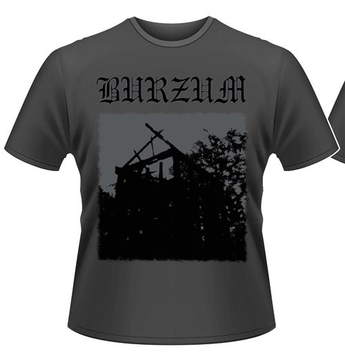 Image of T-shirt Burzum Aske (GREY)