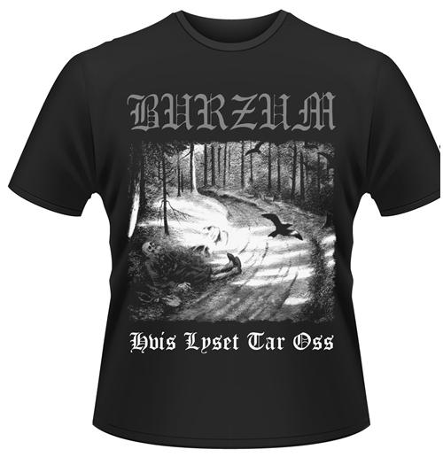 Image of T-shirt Burzum Hvis Lyset Tar Oss