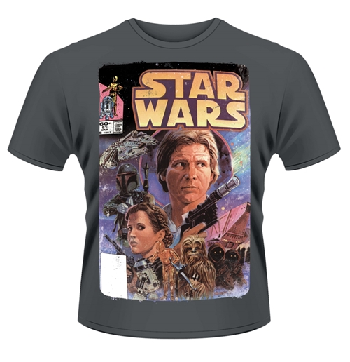 Image of T-shirt Star Wars Fumetto