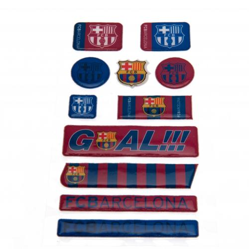 F.C. Barcelona Bubble Sticker Set