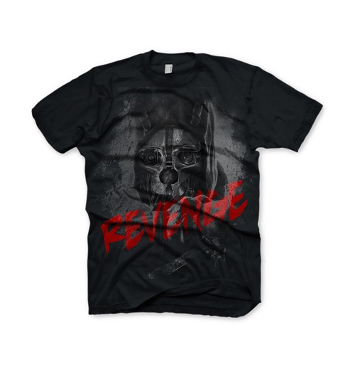 Image of T-shirt DISHONORED Corvo: Revenge - L