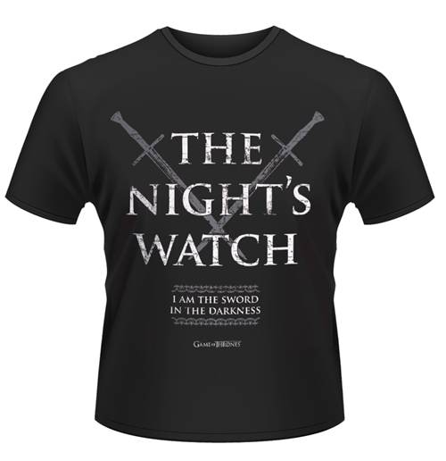 """Image of T-shirt Game Of Thrones """"The Night Watch"""""""