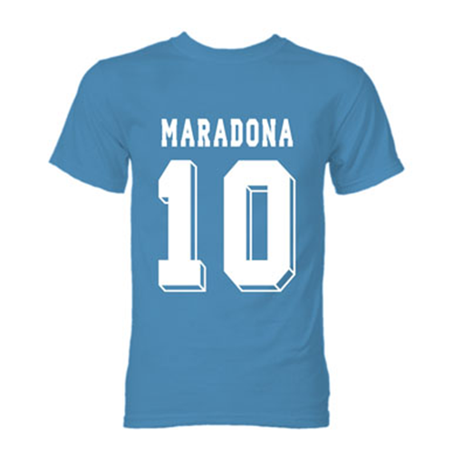 Image of T-shirt Diego Maradona Hero