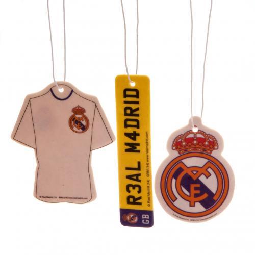 Image of Set Deodoranti auto Real Madrid