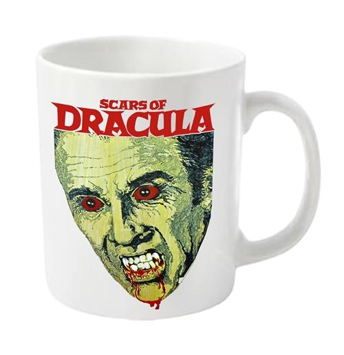 Image of Tazza Dracula - Scars Of Dracula