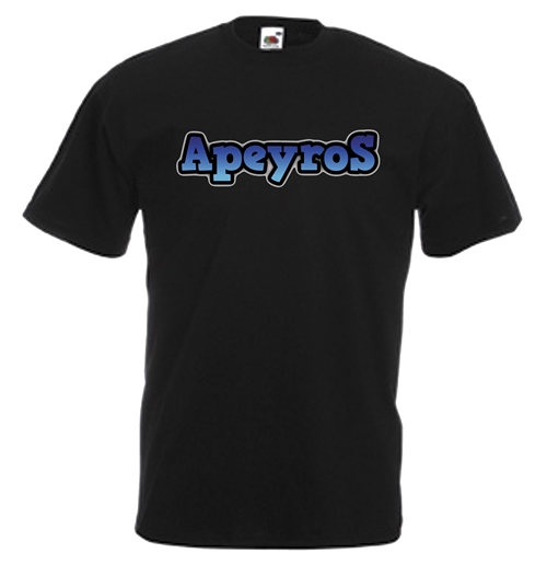 Image of T-shirt con stampa transfer - Apeyros