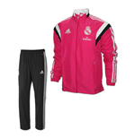 2014-2015 Real Madrid Adidas Mini Presentation Tracksuit (Pink) - Infants