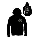 Sons of Anarchy Zipped Hooded Sweater Death Reaper