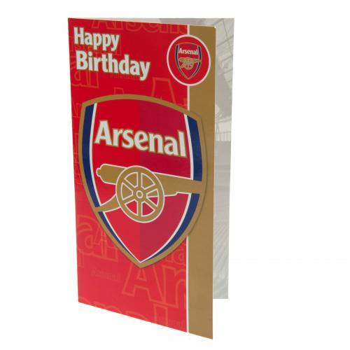 Image of Biglietto d'auguri Arsenal