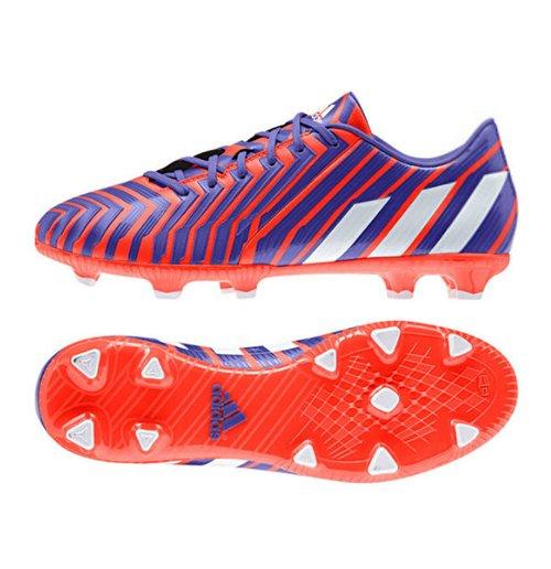 chuteira-de-futebol-adidas-predator-absolado-instinct-fg-vermelhas-brancas-azul-noite