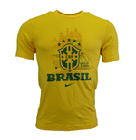 2014-15 Brazil Nike Graphic Tee (Yellow)