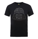 Star Wars T-Shirt Vader Text Head