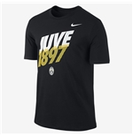 2014-2015 Juventus Nike Core Type Tee (Black)
