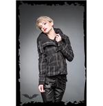 schwarz-grau-karierte-winterjacke-mit-gurtel