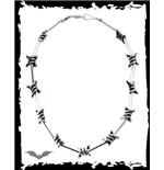 Halskette Stacheldraht