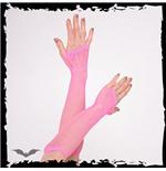 handschuhe-netz-lang-dunkelrosa
