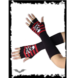 lange-schwarz-rote-handschuhe