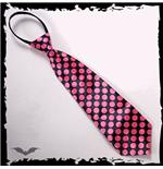 krawatte-rosa-punkte