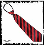 krawatte-rot-schwarz-gestreift