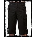 kurze-schwarze-hose-mit-seitentaschen