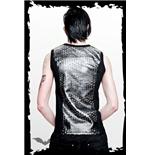 schwarzes-shirt-mit-metalloptik-einsatz