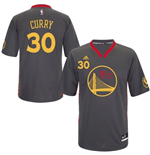 adidas Stephen Curry Golden State Warriors Slate Chinese New Year New Swingman Jersey
