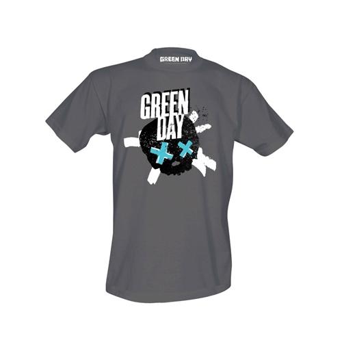 camiseta-green-day-crosssed-skull