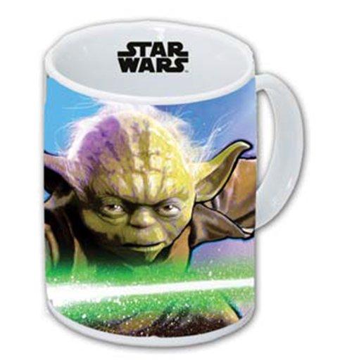 Image of Star Wars - Tazza Di Ceramica Yoda