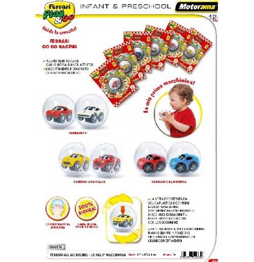 Image of Ferrari Play & Go - Go Go Racing - Sfera La Mia Prima Macchinina